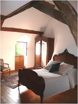 Réservation chambre d'Hôte - Chateau La Grand Cour - 18350 Mornay-Berry